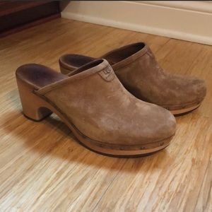 Great condition studded UGG clogs